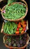 Market. Vegetable market in italian city Royalty Free Stock Image