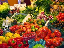 At the market Royalty Free Stock Photos