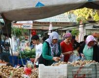 The market in Alanya Stock Photo