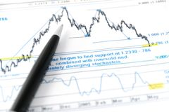 Market analysis Royalty Free Stock Image