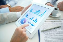 Market analysis Stock Photography