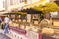 Market in annecy Royalty Free Stock Photos