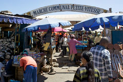 Market in Antananarivo Stock Photography