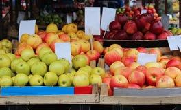 Market apple Stock Photo