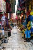 Market in Arab Quarter, Jerusalem Stock Photos