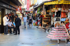 Market Area in Kusadasi Stock Photo