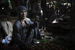 Market in Bagan, Myanmar Stock Photos
