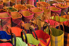 Market bags Stock Images