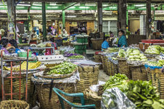 Market in Bangkok, Thailand. Stock Images