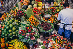 Market in Barcelona Stock Images