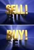 Market Bears Versus Bulls Stock Image