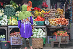 Market in Bedugul, Bali Stock Images