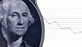 Market blue Stock Image