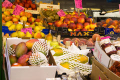 Market in Bolzano, Italy Royalty Free Stock Image
