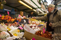 Market in Bolzano, Italy Royalty Free Stock Photography