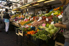 Market in Bolzano, Italy Stock Photography