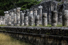 The Market building at Chichen Itza, Stock Photography