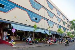 Market Buon Me Thuot. Market of the city center Buon Ma Thuot, Vietnam Stock Photo