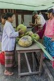 Market in Burma Royalty Free Stock Photos