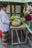 Market in Burma Stock Photos