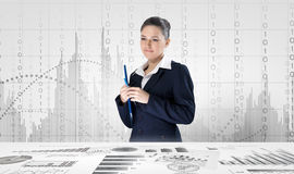 Market business Stock Image