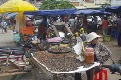 Market in Cambodia Stock Photo