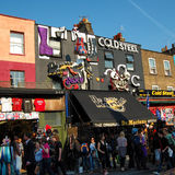 The Market at Camden Town in London Stock Photography
