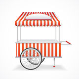 Market Cart. Vector Royalty Free Stock Photo