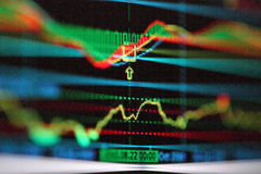Market chart Stock Photo