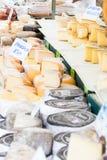 Market Cheese Royalty Free Stock Photo