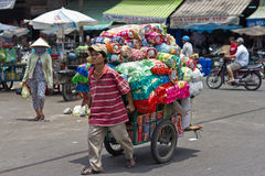 Market in China Town, Ho Chi Minh City, Vietnam Royalty Free Stock Photos