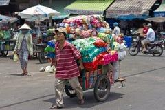 Market in China Town, Ho Chi Minh City, Vietnam Royalty Free Stock Photos
