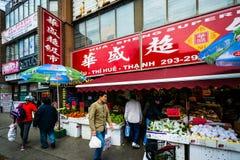 Market in Chinatown, Toronto, Ontario. Royalty Free Stock Photos