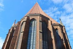 Market Church in Hanover, North Germany. Royalty Free Stock Photography