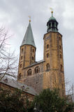 Market Church (Marktkirche) of St. Cosmas and Damian. Goslar Royalty Free Stock Photography