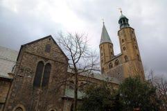 Market Church (Marktkirche) of St. Cosmas and Damian. Goslar Stock Photo