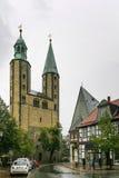 Market Church St. Cosmas and Damian, Goslar, Germany Royalty Free Stock Images