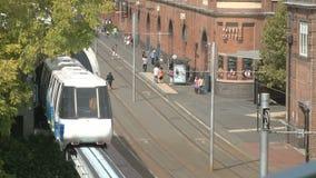 Market City stock video footage