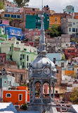 Market clock tower in Guanajuato stock photography