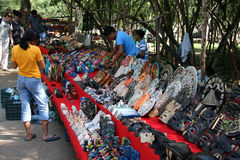 Market at Coba. Mexico Royalty Free Stock Photography