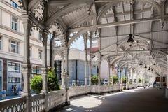 Market Colonnade,Czech republic Stock Photography
