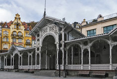 Market Colonnade,Karlovy Vary; Czech republic Royalty Free Stock Photo
