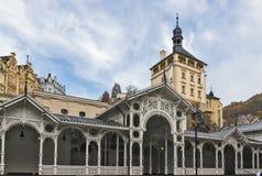 Market Colonnade,Karlovy Vary; Czech republic Stock Image