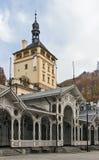 Market Colonnade,Karlovy Vary; Czech republic Royalty Free Stock Photo