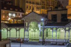 Market Colonnade,Karlovy Vary; Czech republic Royalty Free Stock Photography