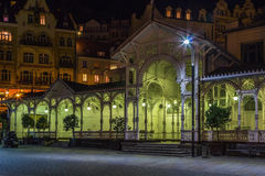 Market Colonnade,Karlovy Vary; Czech republic Royalty Free Stock Photos