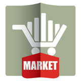 Market concept Royalty Free Stock Image