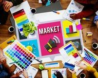 Market Consumerism Marketing Product Branding Concept Stock Photography