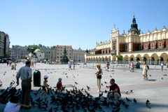 Market in Cracow Stock Images