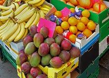 Market crates Stock Photos